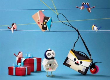 QuTweet, la capsule collection de Fendi en edición limitada para estas Navidades