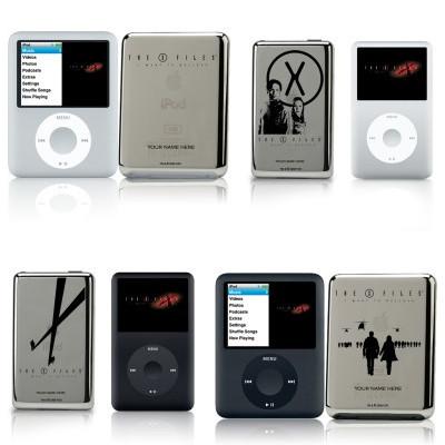 iPod classic y nano edición especial Expediente X