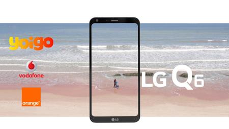 LG Q6 llega para impulsar la vuelta al cole en Vodafone, Orange y Yoigo: comparamos sus precios a plazos