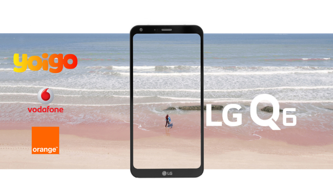 Precios Lg™ Q6 Con Pago A Plazos Y Tarifas Vodafone Orange Yoigo
