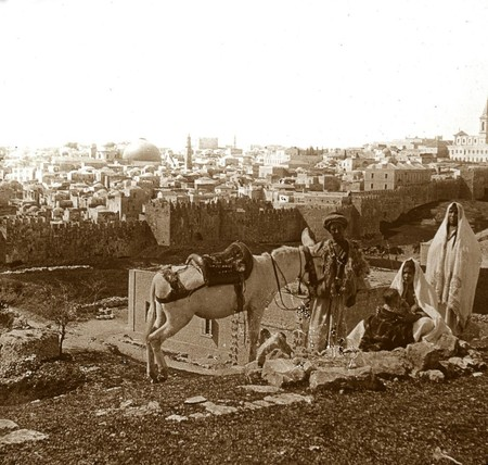Jerusalen Desde El Monte Del Calvario