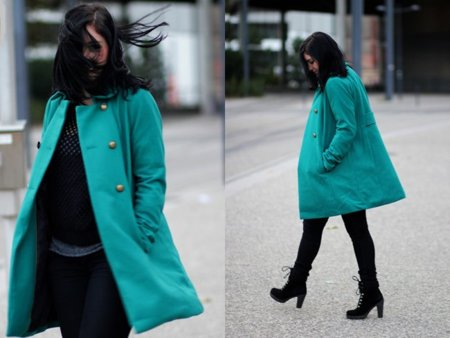 Hm abrigo Moda en la calle