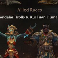 World of Warcraft: Battle for Azeroth pone fecha a su parche 8.1.5. ¡Llegan los Humanos de Kul Tiras y los Trol Zandalari!