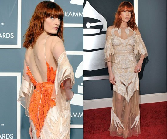 florence welch grammy 2011