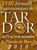 XVIII Jornadas gastronómicas de otoño en Pineda de Mar
