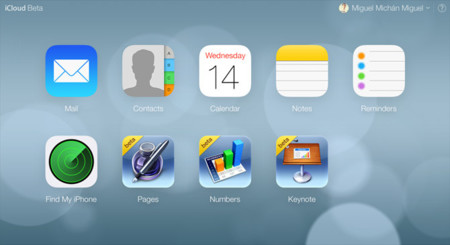 Nuevo iCloud.com