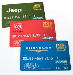 Tarjeta gasolina Jeep
