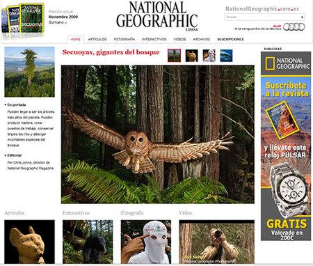Nueva web de National Geographic en español