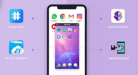 VMOS: una sencilla máquina virtual de Android dentro de Android para tener dos copias de una app, usar root y más