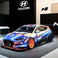 Hyundai Veloster N ETCR: El primer auto de carreras 100% eléctrico que la firma presenta