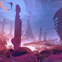 Aparecen unas imágenes de arte que corresponden a un videojuego cancelado de The Legend of Zelda a cargo de Retro Studios