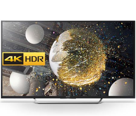 Smart TV Sony KD-65XD7505, con 65 pulgadas y resolución 4K, por 1.380 euros