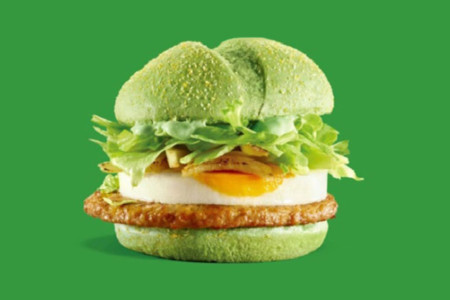 Mcdonalds Green Angry Birds Burger 0