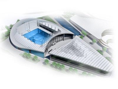 Así será el primer centro de preparación para astronautas comercial, con piscina de 50 metros y centrífuga humana