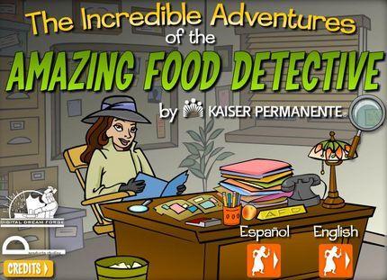 Amazing Food Detective: videojuego online contra la obesidad
