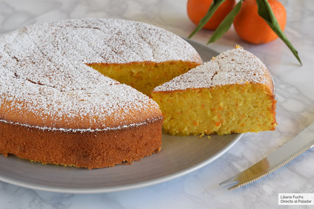 Bizcocho De Mandarina Y Almendra Receta Magimix Cook Expert Fácil Y Sencilla