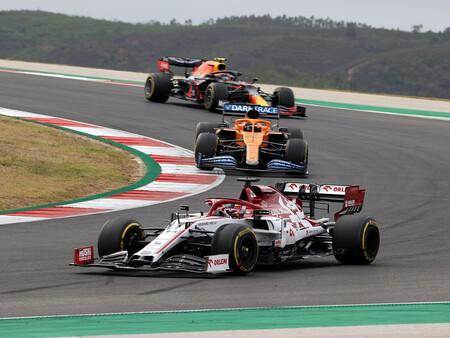Raikkonen Portugal F1 2020