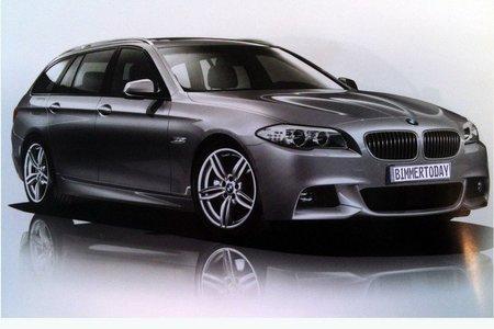 Así será el BMW Serie 5 Touring con pack M