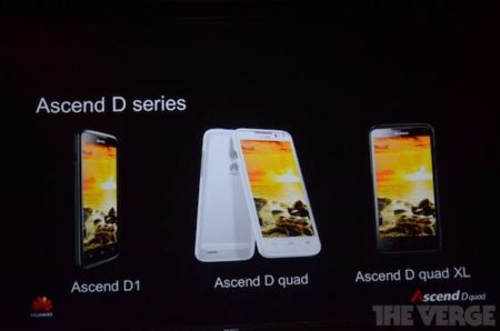 huawei ascend d series