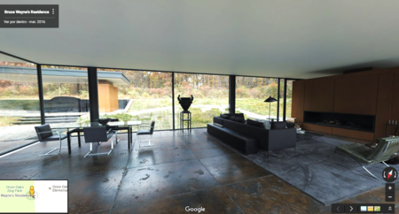 Visita la cueva de Batman sin salir de tu casa con Google Street View