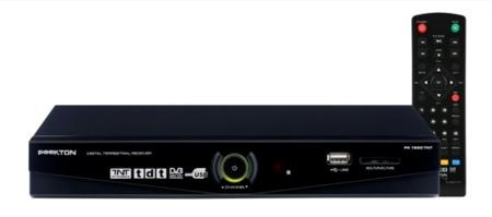 Peekton PK 1651, sintonizador TDT con grabación