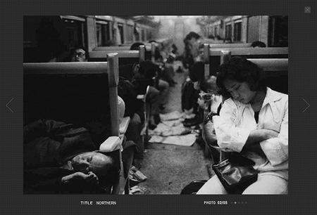 Daido Moriyama expone sus fotografías en la Polka Gallery de París