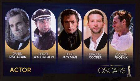 Los mejores actores de los Oscar 2013