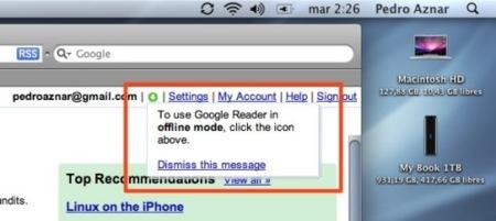 Google lanza oficialmente Gears para Safari en Mac OS X
