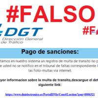 La DGT advierte de la última estafa: este mail falso de una multa no pagada para robar datos confidenciales