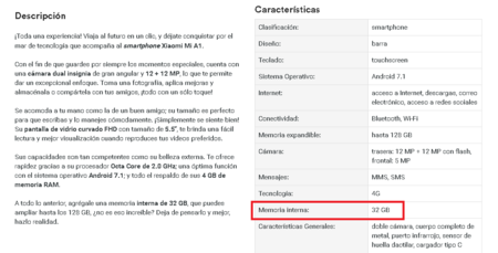 Xiaomi Mi A1 Coppel Mexico 32 Gb Memoria