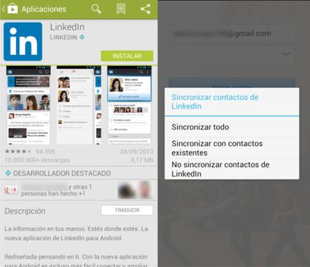 Análisis Aplicación LinkedIn Android e iOS
