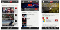 La aplicación oficial de YouTube para Windows Phone 8 se renueva por completo
