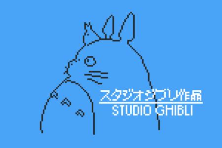 Mágicos 8 bits para homenajear el universo del estudio Ghibli