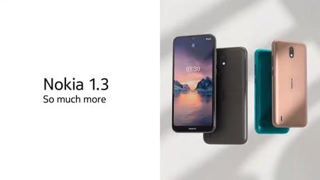 Nokia 1.3: un nuevo Android Go con botón dedicado para Assistant y cámara de 8 megapíxeles
