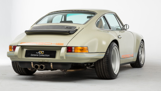 Theon y su espectacular Porsche 911 restomod