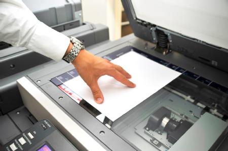 Programando con una fotocopiadora