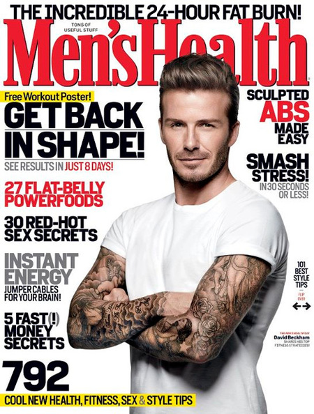 Que me pongan un David Beckham así de sano para llevar