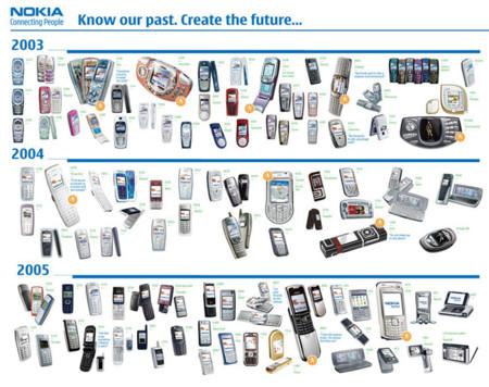 18 teléfonos Nokia que nos muestran la alucinante evolución de la telefonía móvil