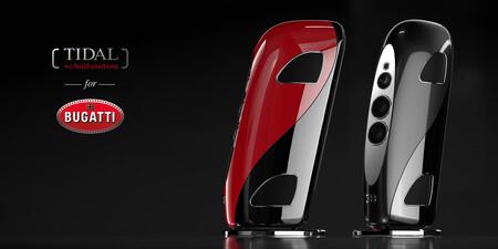 TIDAL se asocia con Bugatti para crear su línea de altavoces de lujo: así son los nuevos 'Royale'
