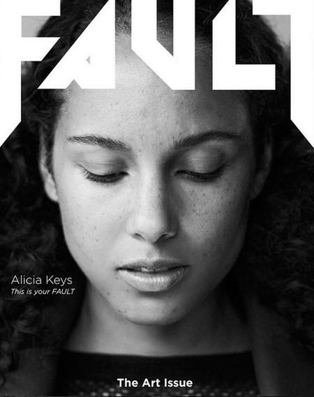 La 'cara lavada' de Alicia Keys podría llevar maquillaje
