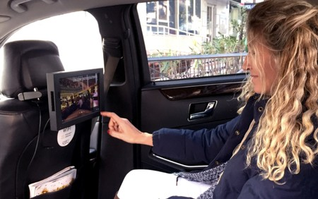 Samsung se une a Cabify para incorporar tablets con sistemas de entretenimiento e información en sus vehículos