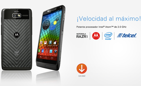 Motorola RAZRi, pronto en preventa para México