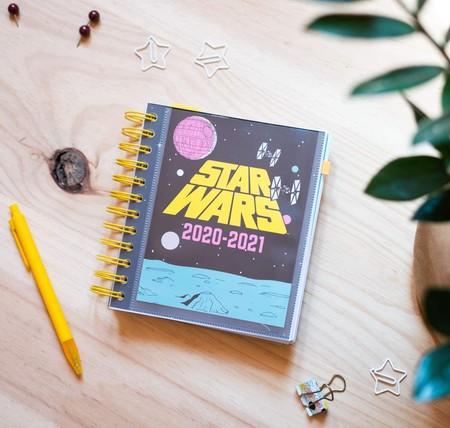 Agenda escolar 2020/2021 día página M Star Wars,