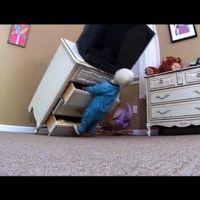 Muebles no asegurados a la pared, un peligro para los niños