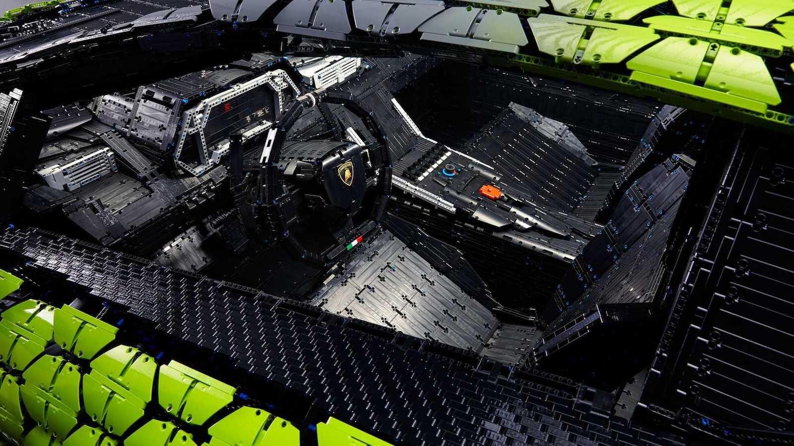 Foto de Lamborghini Sián Lego replica tamaño real (10/18)