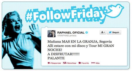 #FollowFriday de Poprosa: working hard for the money... ¡y que viva España!