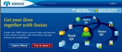 Sosius, herramientas y espacios de colaboración para grupos de usuarios