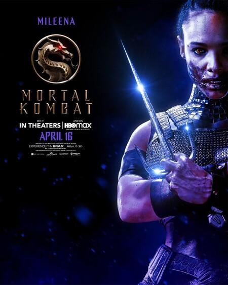 Mortal Kombat Character Poster Mileena