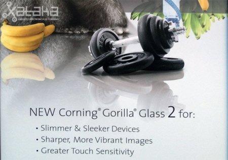 Gorilla Glass 2 tendría la misma resistencia pero será un 20% más fino