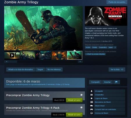 Zombie Army Trilogy Ya Tiene Fecha De Salida Para Ps4, Xbox One Y Steam 01